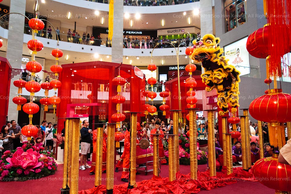 It started, CNY Celebration @ KL, Malaysia
