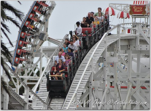 One of the rides at Luna Park