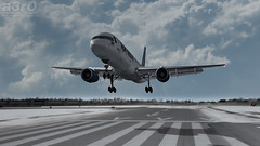 Ed Force One (a3rO) Tags: snow buffalo cs boeing buf ironmaiden fs2004 fs9 b752 kbuf edforceone captainsim