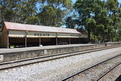 Belair waiting shed (chrismc38) Tags: belair station waiting shed platform railway railcar adelaide