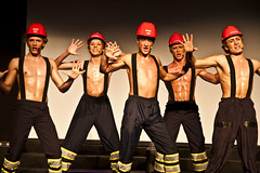 "OHG revyen 2011, ""De chilenske gruvearbeidernes glansnummer"""