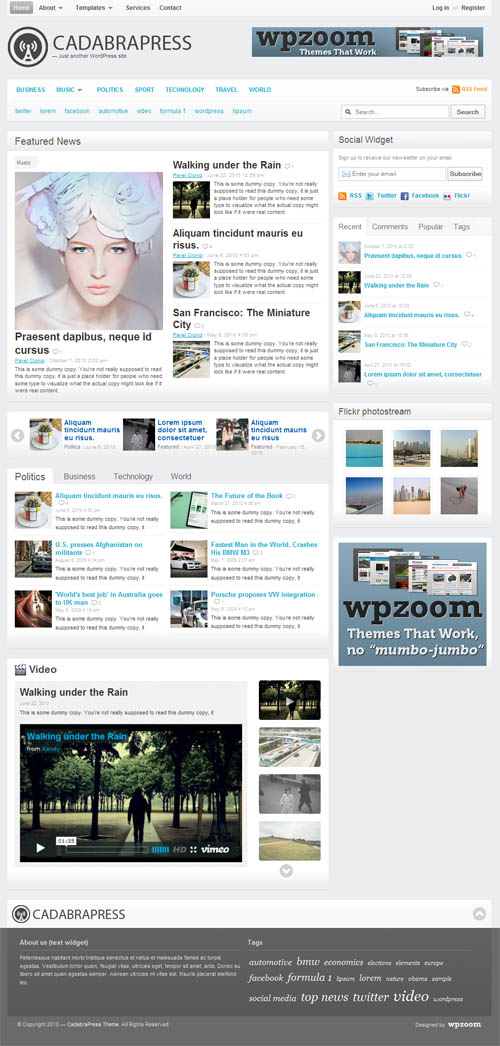 cadabrapress-wordpress-theme