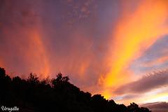 Y el cielo se visti de color (Urugallu) Tags: espaa color canon atardecer spain flickr andalucia cielo nubes jaen ocaso cazorla sierradecazorla pinceladas 50d finaldeldia urugallu saariysqualitypictures theoriginalgoldseal