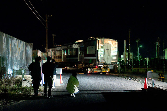 新京成電鉄N800形 N828F モハN828 モハN827 陸送される