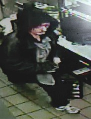 Suspect in Jimmy John's robbery