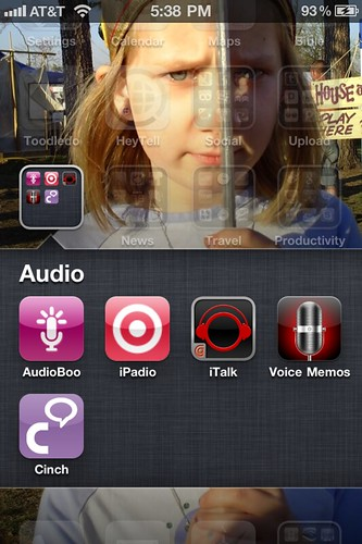My iPhone audio recording apps