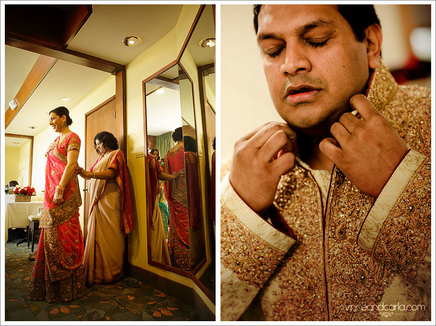 dual preparation wedding