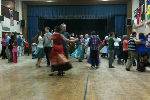 Contra dance in Worcester MA