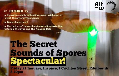 Spores Spectacular Flyer