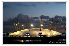 Millennium Dome (Gadget333) Tags: london cityscape dusk o2 millenniumdome d300 50mmnikkorf18 nikonflickraward gettyimagesuklocation