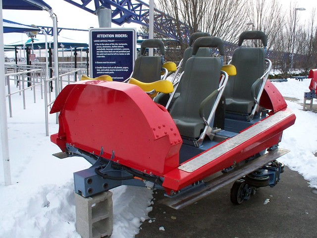 Cedar Point - Off-Season Millennium Force Car