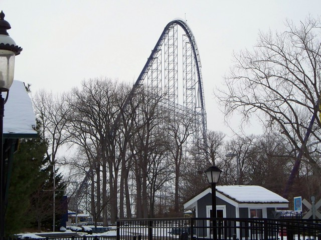 Cedar Point - Off-Season Millennium Force