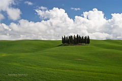 Cypress (Andrea Federici) Tags: toscana tuscany italia italy pienza campagna cipressi clouds country cypress flickr greenfield landscape naturelandscape nuvole paesaggio andreafedericiphoto 500px italian house tuscan europe nature countryside summer green farm spring sunset rural travel agriculture field meadow tree hill