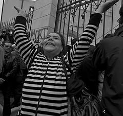 Freedom - Tunisian Revolution -Jan 20 DSC_6224 (Chris Belsten) Tags: demo dominoeffect protest winter tunisia crowd enough democracypeople empowermentoverthrowafricawestern puppetsviolencedeathjanuarypeaceful protestrevoltpower avenuebourgiba arab tunisie police jasminerevolution maghreb rabble dictator tyrant demonstrationsidibouzid street repression benali handsintheair tunis anger flickrexportdemo