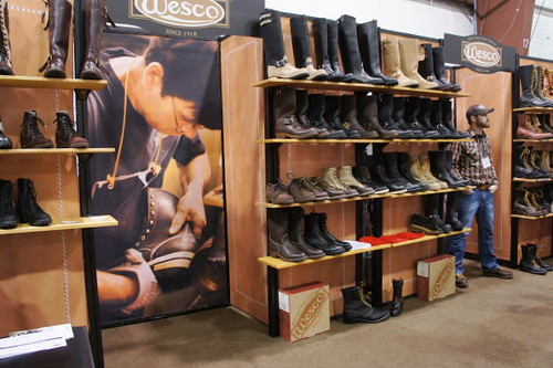 Wesco Boots, Vancouver Motorcycle Show 2011, Tradex Exhibition Centre, Abbotsford, BC