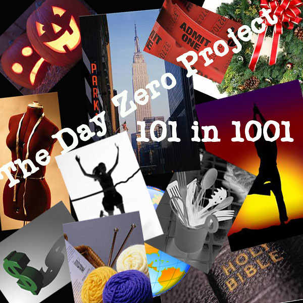 Day Zero Project- 101 in 1001