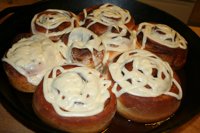 High Altitude Sticky Cinnamon Buns