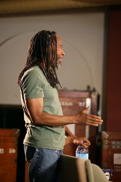 Bobby McFerrin Chatting After Interview