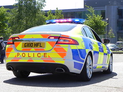Surrey Police | Jaguar XF | Roads Policing Unit | GX10 HFL (EmergencyVehiclePics1) Tags: new blue car race lights pier volvo video amazing call respect bell fast police run hampshire surrey led yelp area bmw vehicle leds jaguar brand siren callout skoda shout response armed 999 x5 wail vrs on the bullhorn unmarked twotone lifesavers xf strobes rpu airhorn xc70 320d 530d