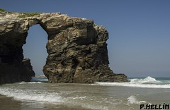 Playa de las Catedrales - Lugo (Spain) (P. HELLIN) Tags: playa lugo ribadeo spain cantabrico catedrales ngc
