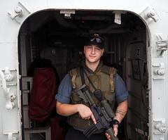 D.J. (jeffcbowen) Tags: dj canadiannavy hmcsvilledequebec frigate battleship warship toronto thehumanfamily sailor