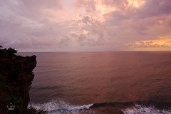 Tropical sunset (A. Wee) Tags: bali indonesia   uluwatu cliff sunset