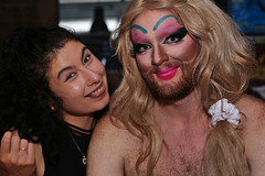 Cinderella (dVaffection) Tags: cinderella katy hairy gay people party sweet sticky show displace hashery vancouver drag