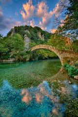 Stone brigde of Klidonia 4 (Dimitil) Tags: river voidomatis rivervoidomatis brigde stonebrigde epirus epire klidonia greece hellas water nature tradition