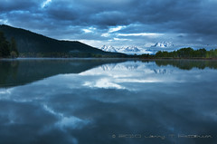 Beauty On A Bad Day (Jerry T Patterson) Tags: camping reflection water clouds outdoor hiking wildlife parks jackson patterson tetons moran jacksonhole ynp oxbow tnp clow dcpt 2010dctp