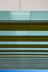 Up (denwend1972) Tags: sky building geometric window lines japan vertical horizontal architecture composition canon eos japanese tokyo geometry perspective   cloudless setagaya tamagawa futakotamagawa converging futako   setagayaku 50d