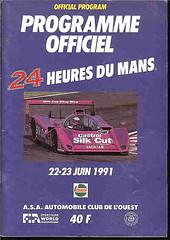 1991-LE MANS_24 HEURES DU MANS_JUNE 1991 (PSParrot) Tags: collecting motorsporteventprogrammesprogramme collectingprogram motorracingprogrammes 1989lemans24heuresdumansjune1989