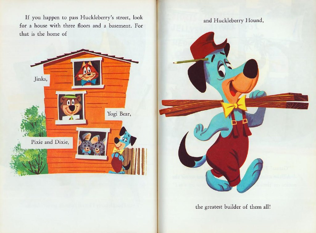 Huckleberry Hound & Yogi Bear014