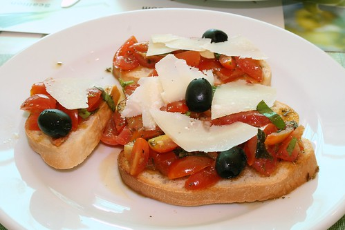 Delicious Spago Bruschetta