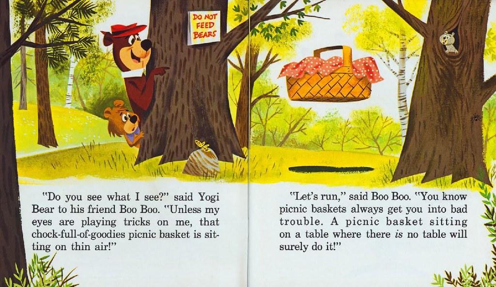 Yogi Bear & the Cranky Magician003