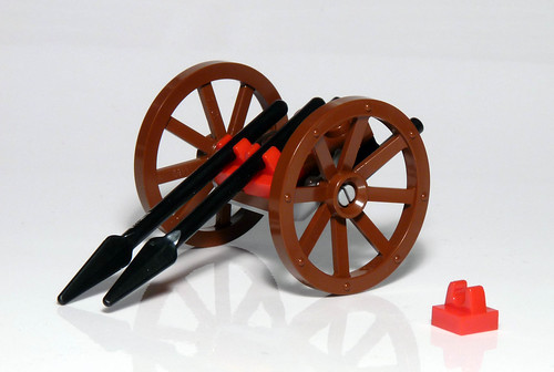 7952 - 2010 Kingdoms Advent Calendar - Day 5 - Spear Cart