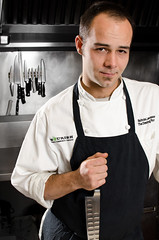 13/52 Nick Lacasse (jay schroeder) Tags: chicago kitchen nikon knife chef drawingroom finedining thedrawingroom chefcoat d7000 nicklacasse