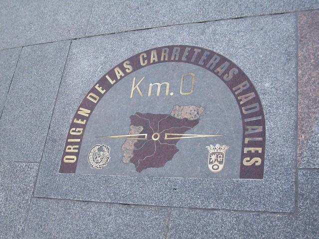 Kilometro Cero, Madrid Spain