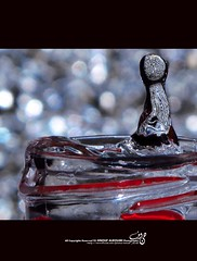 Drop (Alhanouf Alroumi) Tags: water by canon all bokeh d cam  drop again hana rights try reserved alroumi  g10            hnouf 10