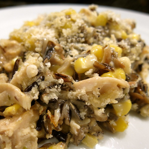 Turkey & Wild Rice Hotdish