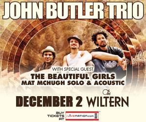 John Butler Trio & The Beautiful Girls - Wiltern
