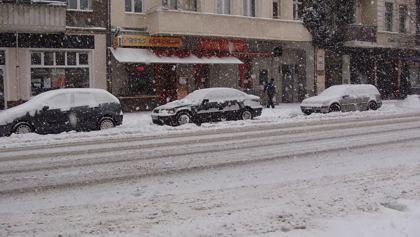 Der Winter ist da - 02.12.2010