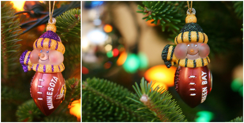 Packer Viking Ornaments
