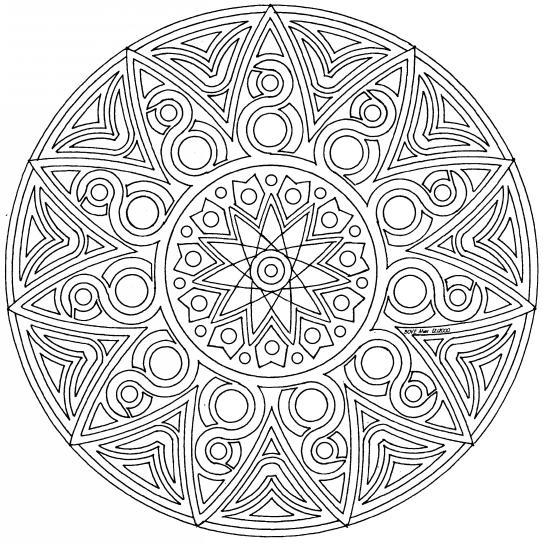 Mandalas Para Imprimir Y Colorear Adultos Imagui