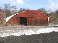 Le hangar de Creil (Base IGN)