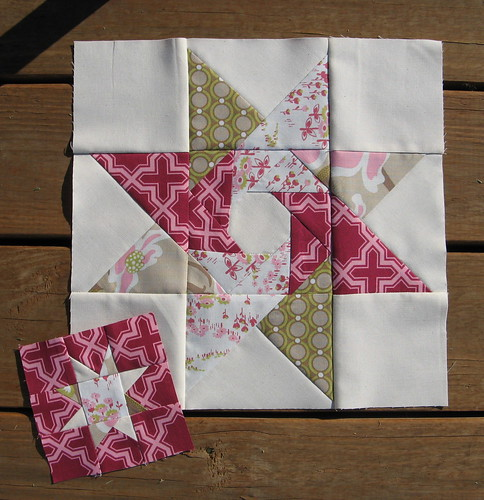 Pretty in Pink Bee - December Blocks for cilvee