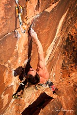SOS 5.13a (Adam Bove) Tags: sandstone nevada nv climbing redrocks rockclimbing sportclimbing