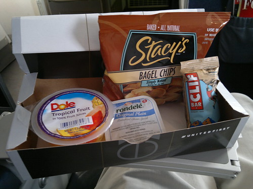 United Express First Class Snack Box
