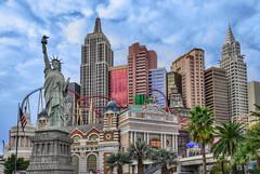 NYNY - Las Vegas, Nevada (Mister Joe) Tags: vegas cloud palms daylight nikon lasvegas nevada joe casino empirestatebuilding nyny dynamicrange statueofliberty newyorknewyork hdr lasvegasblvd