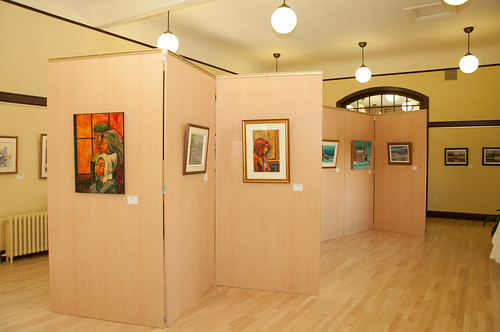 Lightweight panels - Art Gallery partitions