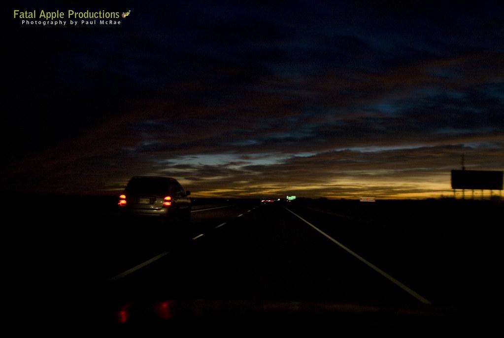 Heading into the Sunrise